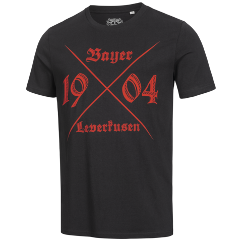 front-view of the 1904 t-shirt