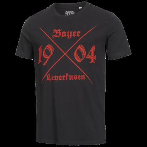Frontansicht des Bayer 04-T-shirts