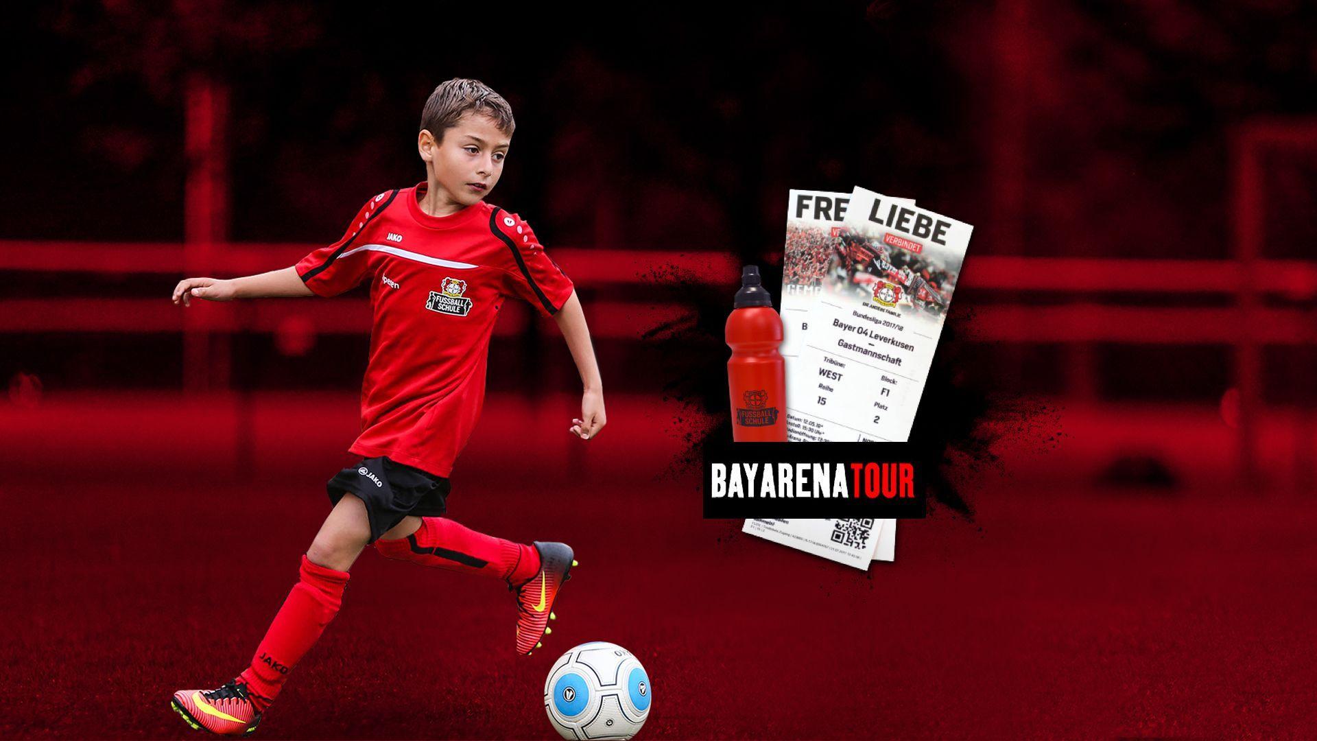 Das Komplettpaket der Bayer 04-Fussballschule für die Camps 2020