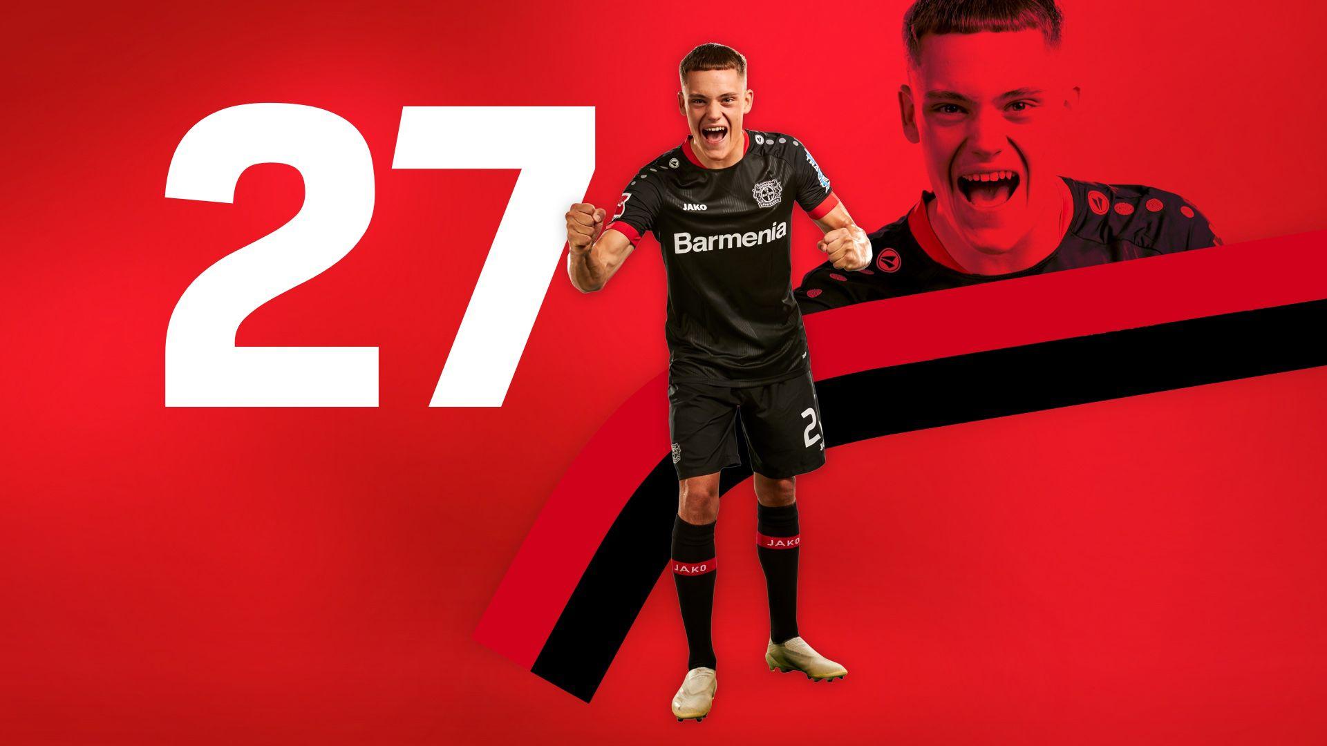 Florian Wirtz | Bayer 04 Leverkusen Fanshop | Bayer 04 Leverkusen ...