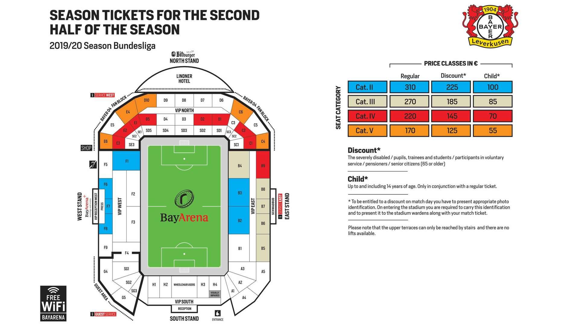 Leverkusen Tickets