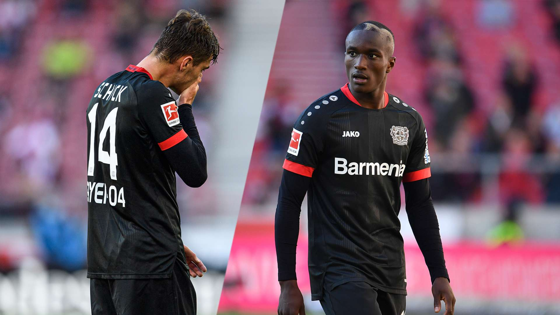 Schick and Diaby sidelined for international break | Bayer04.de