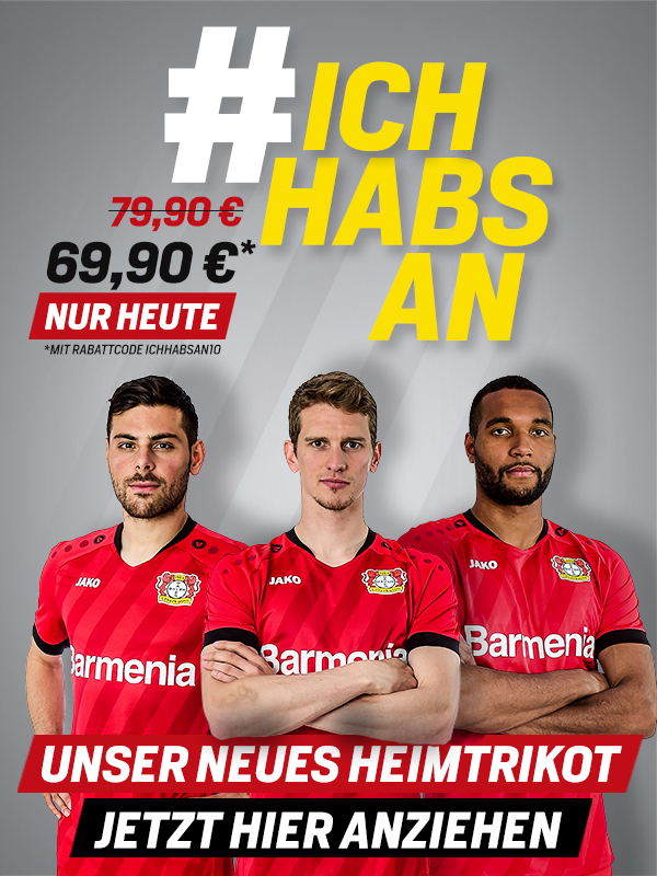 The Werkself Are Red Again The 2019 20 Home Shirt Bayer04 De