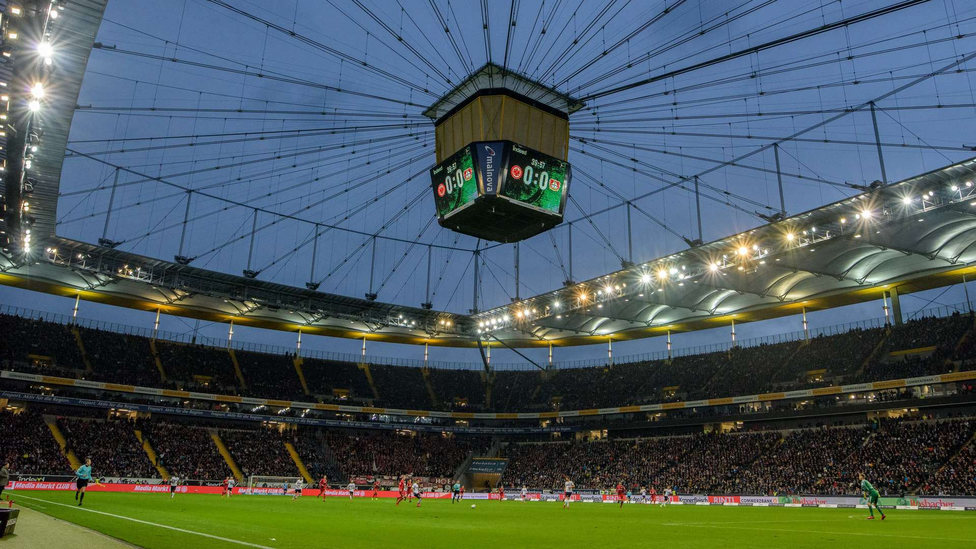 Parkplatz Frankfurt Stadion