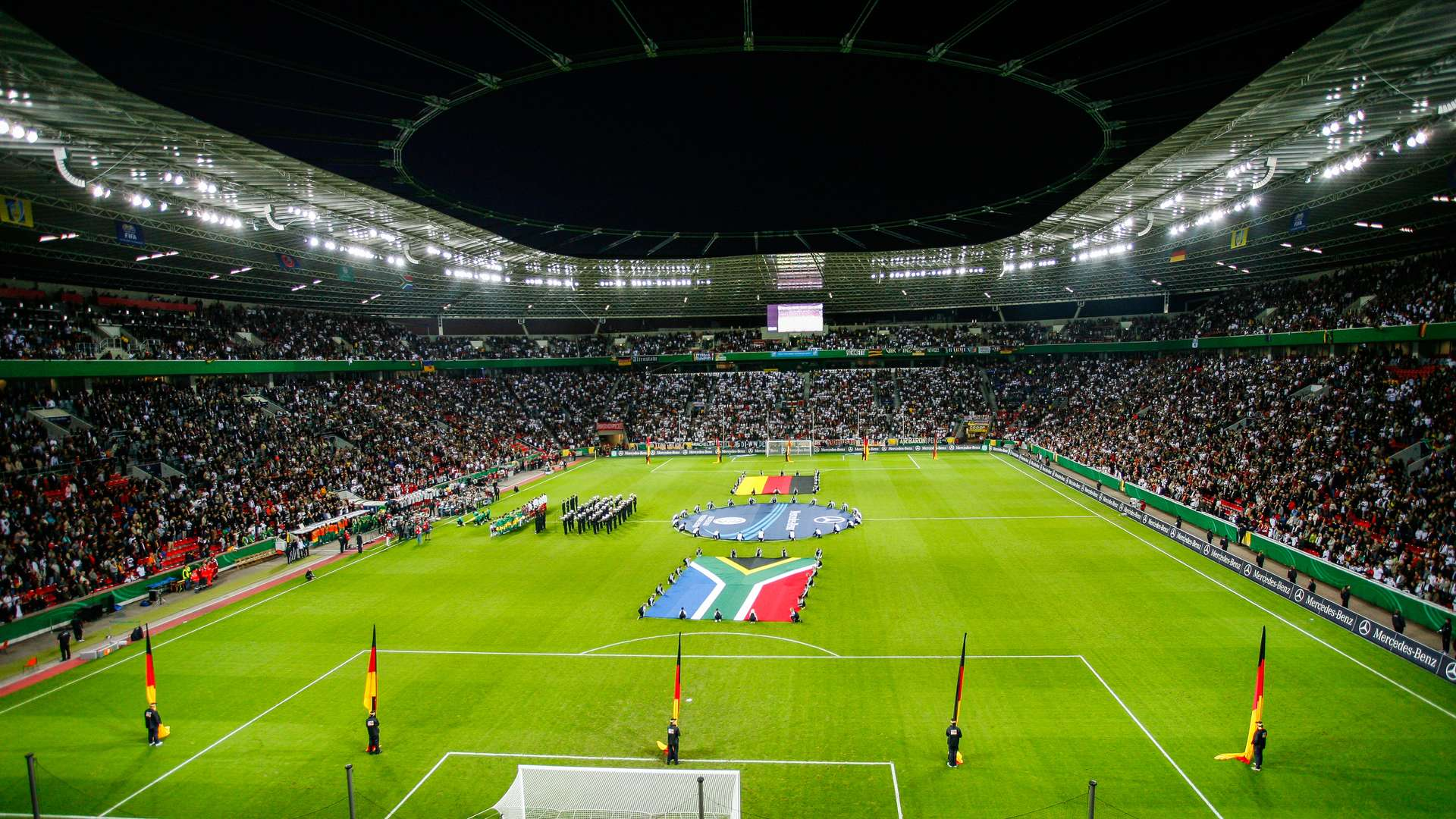 World Cup warm-up fixture at the BayArena  ce60dd0f733cb