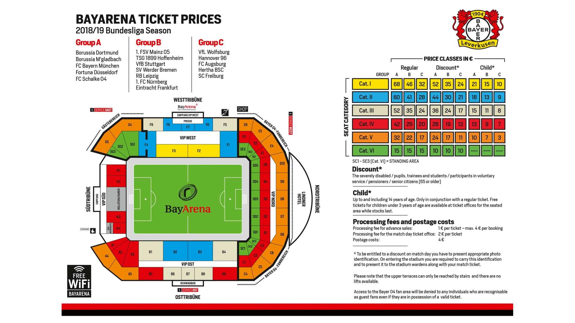 Tickets Leverkusen